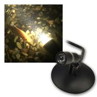 LED outdoor and underwater lights | 230V/3W, 3000K | IP68