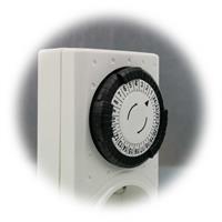 Timer für elektrische Verbraucher mit 48 Schaltzeiten am Tag