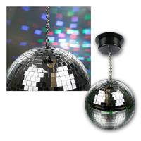 Multi colour LED mirror ball | 230V | rotary enginge