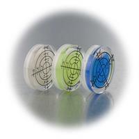 kleine Wasserwaagen mit Gradzahlen-Acrylgehäuse