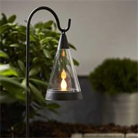 LED Fackel mit Erdspieß und Aufhängung als Stehleuchte