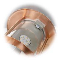 LED Solarleuchte VALENCIA mit 6 warmweiß-leuchtenden LEDs