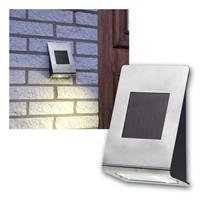 Solar LED wall light Wally II | outdoor  | stainless steel