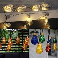 LED Lichterketten mit warmweißem Lichtschein für den Innenbereich