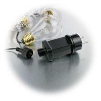 LED Deko Lichterketten in Glühlampen-Optik mit Netzteil für 230V