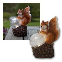 LED figure squirrel | 8x17cm, warm white | solar, IP44