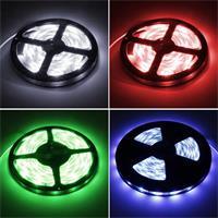 flexibler LED Streifen mit satten Farben, Farbwechsel oder Weißlicht