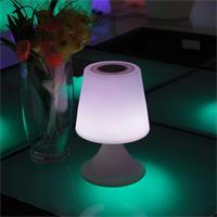 dekorative LED Leuchte, mobiler Lautsprecher mit Bluetooth Empfänger