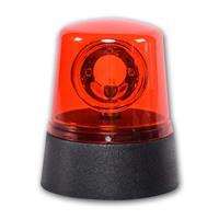 LED Rundumleuchte, rotes Gehäuse, 3x AA Batterien