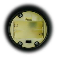 LED Laterne aus Glas, Batteriebetrieb und Timerfunktion