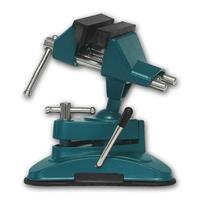 table vice, rotatable & swiveling | suction foot, span 70mm