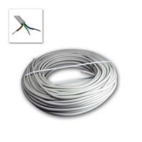 Power line NYM-J, 50m, 3-wire | insulated, gray Ø 8,2mm