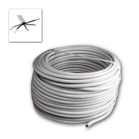 Power line NYM-J, 50m, 5-wire | insulated, gray Ø 9,5mm