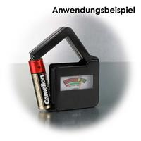 Ladezustandsmesser mit analoger Anzeige des Batteriezustandes