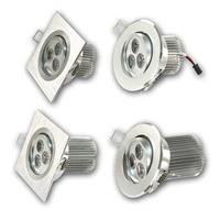 LED Leuchtmittel 230V in einem hochwertigem Aluminiumgehäuse, schwenkbar