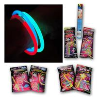 Glow sticks | 5 different glowing sets | colourful