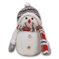 LED Schneemann mit Mütze, Schal und Handschuhen