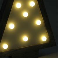 LED Weihnachtslicht mit warmweißem, stimmungsvollem Lichtschein