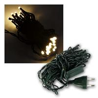 LED Lichterkette, 35 LEDs, warmweiss, 422cm