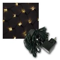 LED Lichternetz, 0,8x1,0m | 80 LEDs, warmweiß | 230V/2W