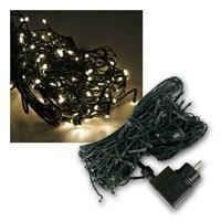 LED Lichtervorhang, 3,1x0,55m | 160 LEDs, warmweiß | 230V