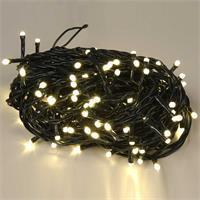 Warmweiß leuchtende Lichterkette mit 160 LEDs