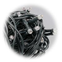LED Lichterkette mit 160 warmweißen LEDs