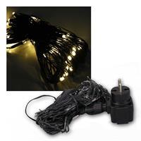 LED Lichternetz | 80 warmweiße LEDs | 1x0,8m | 230V/2W