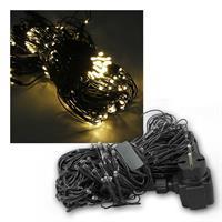 LED Lichternetz | 240 warmweiße LEDs | 2,5x1m | 230V/6W