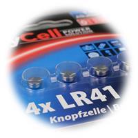 Vorteilspack Alkaline Knopfzellen der Größe LR41/AG3