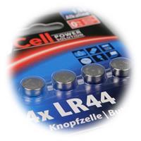 Vorteilspack Alkaline Knopfzellen der Größe LR44/AG13