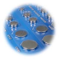 Vorteilspack mit den gängigsten Lithium und Alkaline Knopfzellen