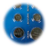 1,5V und 3V Knopfzelle für verschiedenste Kleinstgeräte