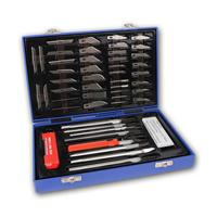 Precision Knife Set | 48 pieces | Plastic case