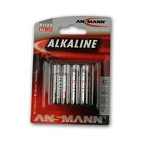 Alkaline battery Micro AAA/LR03 | 1.5V, 4 pack