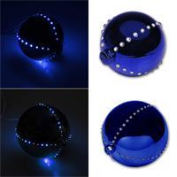 blaue LED Weihnachtskugel mit 44 oder 76 LEDs