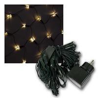 LED Lichternetze, 3 Typen | 80/240 LEDs, warmweiß | 230V