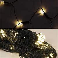 LED Dekolichternetze verzaubern mit warmweißem Licht