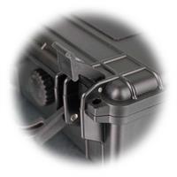 Gerätekoffer miz zusätzlicher Verschlussmöglichkeit