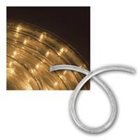 LED Lichtschlauch, 230V/2,4W/m | warmweiß, 3 Längen | IP44