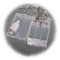 LED-Figuren mit Batteriebetrieb und USB-Stecker