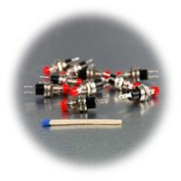 Miniatur-Taster für den Niedervoltbereich, Modellbau oder Kfz-Bereich