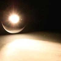 Warmweiß-leuchtende 3W LED-Einbauleuchte