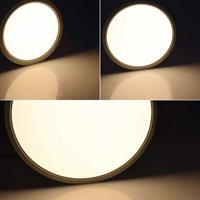 LED Aufbauleuchten mit warmweißen homogenen Lichtaustritt