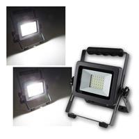 LED spotlight BS-pro | 20/30W | white, battery operation