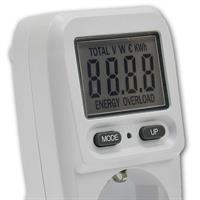 Mit dem Energiemessgerät behalten Sie die Stromkosten im Auge