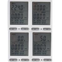 Energiekosten-Messgerät mitverschiedenen Anzeigen