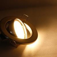MR16-Einbaustrahler -Sets mit warmweißem Licht