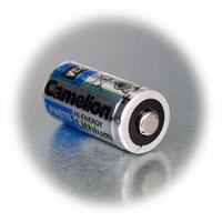 CR123A Batterie mit Aluminiumfolien-Ummantelung