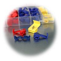 Sortimentbox mit 65 Teilen, Stromdiebe für Drähte von 0,75 bis 6mm²